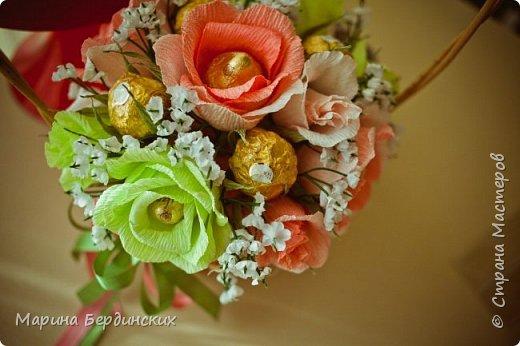 Мастер-класс Моделирование конструирование Мастер-класс по созданию прекрасной розы Бумага гофрированная фото 11
