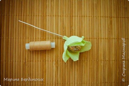 Мастер-класс Моделирование конструирование Мастер-класс по созданию прекрасной розы Бумага гофрированная фото 9