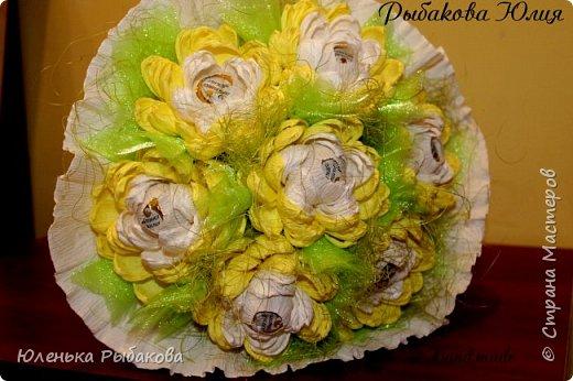 Букетики подарочки для воспитателей в детский сад)) фото 2