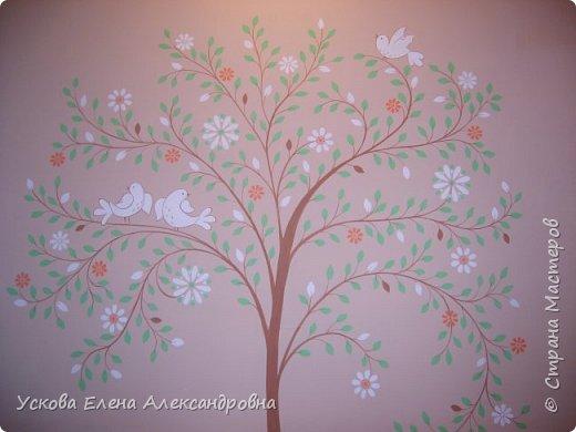Идею этого дерева я взяла в интернете, но сделала немного по своему) фото 2