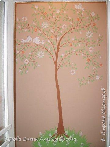 Идею этого дерева я взяла в интернете, но сделала немного по своему) фото 1