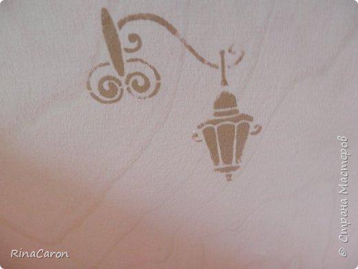 Журнальница или короб для рукоделия Большой вместительный короб. Для спиц, ниток для вязания или под журналы мод. Украшен медальоном фото 10