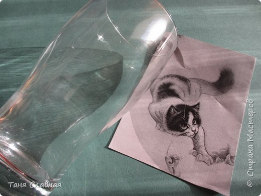 Декор предметов Мастер-класс Аппликация Рисование и живопись Рисунок лепестками цветов аппликация на стекле Клей Краска Листья Материал природный фото 4