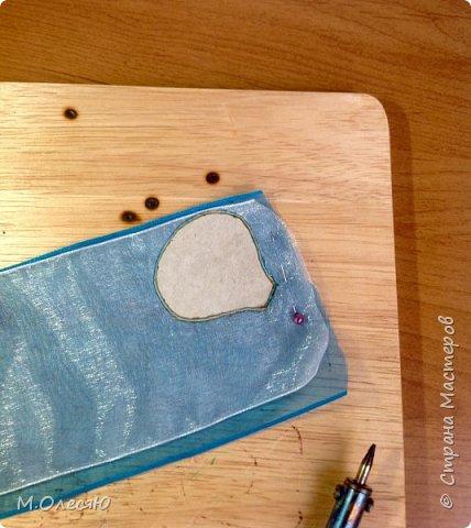 Розочка из капроновых лент фото 4