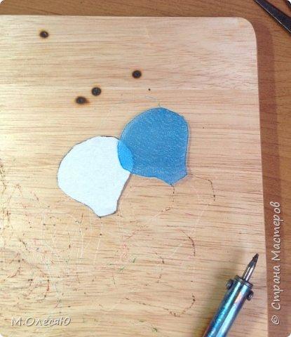 Розочка из капроновых лент фото 7