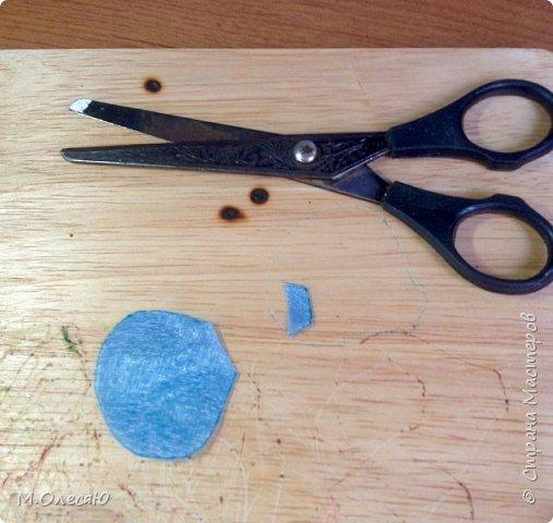 Розочка из капроновых лент фото 8