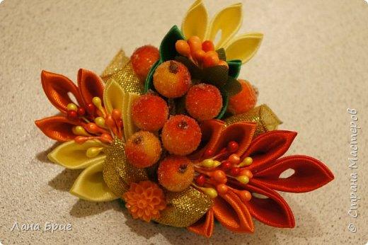 Осенняя резиночка для волос. фото 1