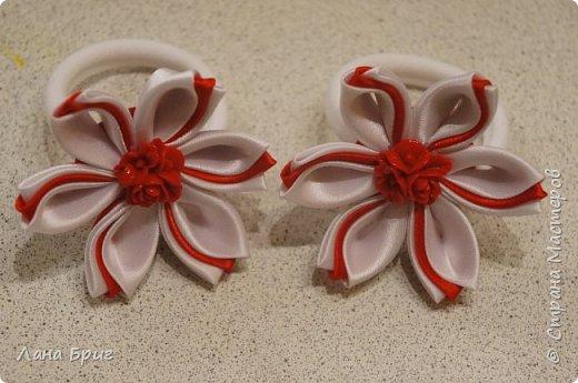 Осенняя резиночка для волос. фото 3