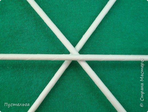 Мастер-класс Поделка изделие Плетение Овечка Бумага Трубочки бумажные фото 3