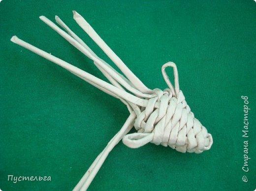 Мастер-класс Поделка изделие Плетение Овечка Бумага Трубочки бумажные фото 15