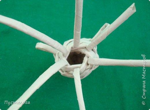 Мастер-класс Поделка изделие Плетение Овечка Бумага Трубочки бумажные фото 16