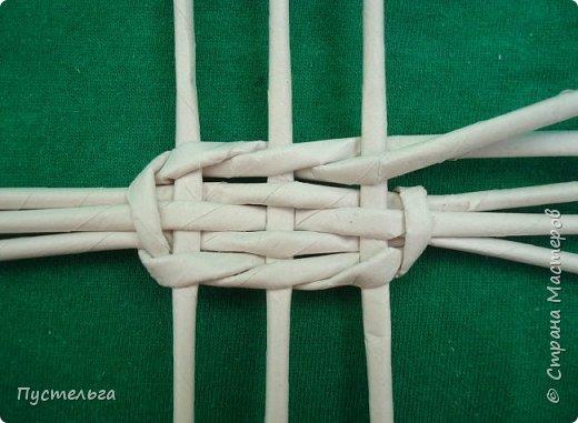 Мастер-класс Поделка изделие Плетение Овечка Бумага Трубочки бумажные фото 19