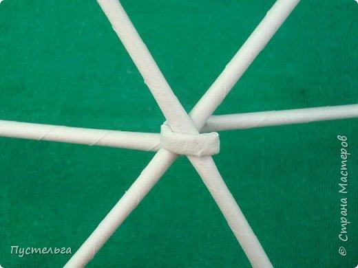 Мастер-класс Поделка изделие Плетение Овечка Бумага Трубочки бумажные фото 4