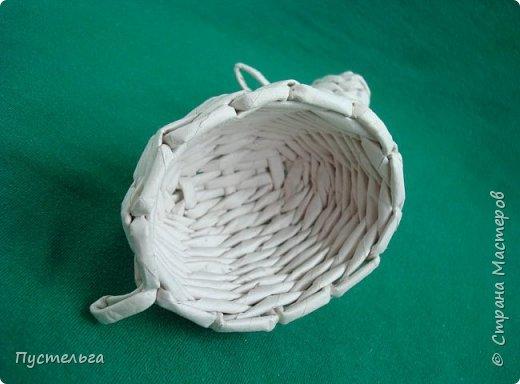 Мастер-класс Поделка изделие Плетение Овечка Бумага Трубочки бумажные фото 24