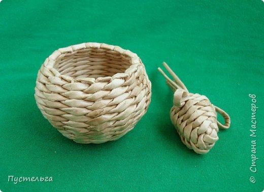 Мастер-класс Поделка изделие Плетение Овечка Бумага Трубочки бумажные фото 27