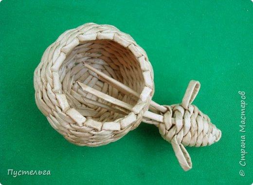 Мастер-класс Поделка изделие Плетение Овечка Бумага Трубочки бумажные фото 28