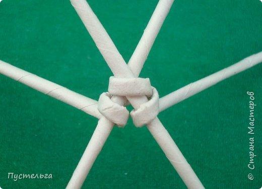 Мастер-класс Поделка изделие Плетение Овечка Бумага Трубочки бумажные фото 6