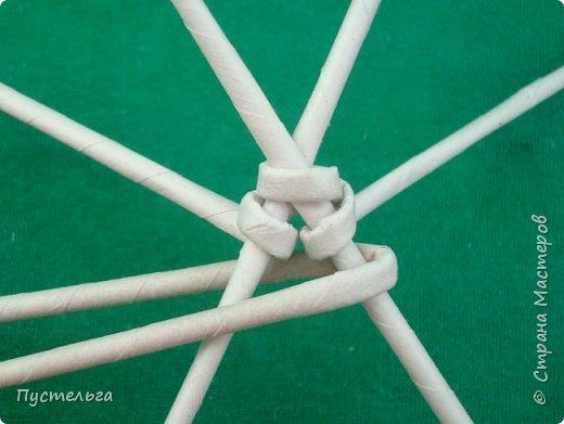Мастер-класс Поделка изделие Плетение Овечка Бумага Трубочки бумажные фото 7