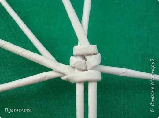 Мастер-класс Поделка изделие Плетение Овечка Бумага Трубочки бумажные фото 8