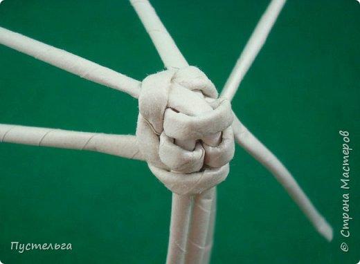 Мастер-класс Поделка изделие Плетение Овечка Бумага Трубочки бумажные фото 10