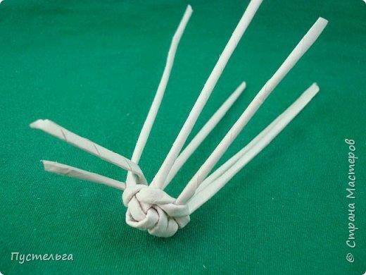 Мастер-класс Поделка изделие Плетение Овечка Бумага Трубочки бумажные фото 9