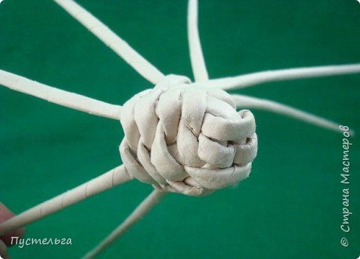 Мастер-класс Поделка изделие Плетение Овечка Бумага Трубочки бумажные фото 11