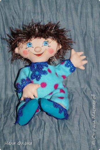 Антошка - кукла примитивчик с болтающимися ручка и ножками. фото 1