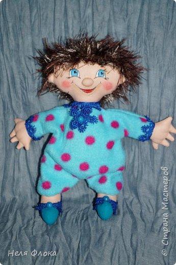 Антошка - кукла примитивчик с болтающимися ручка и ножками. фото 2