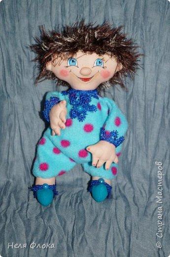 Антошка - кукла примитивчик с болтающимися ручка и ножками. фото 3