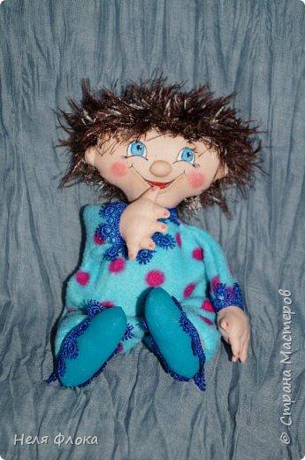 Антошка - кукла примитивчик с болтающимися ручка и ножками. фото 4