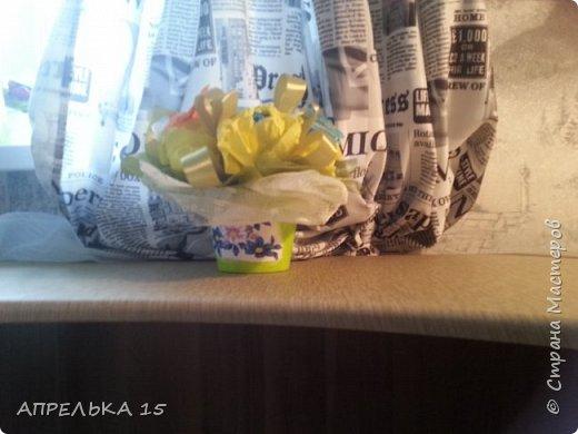 Букеты из конфет для учителей фото 3
