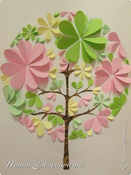 Объёмная аппликация из бумаги своими руками цветы фото 87