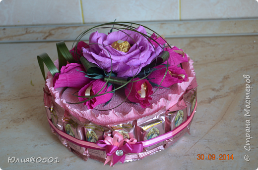 Небольшой тортик на День Рождения подруги!  фото 1