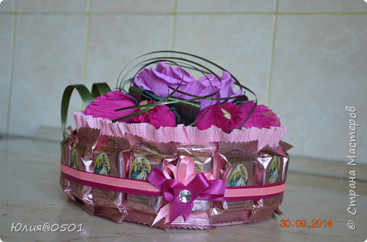 Небольшой тортик на День Рождения подруги!  фото 2