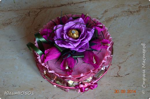 Небольшой тортик на День Рождения подруги!  фото 3
