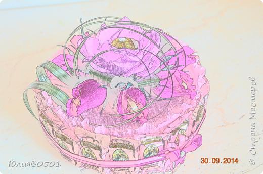 Небольшой тортик на День Рождения подруги!  фото 6