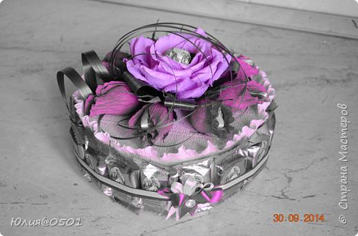 Небольшой тортик на День Рождения подруги!  фото 7