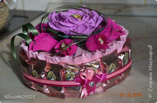 Небольшой тортик на День Рождения подруги!  фото 9