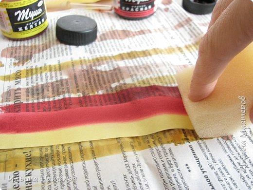 Мастер-класс День учителя Квиллинг Квиллинг-цветочек с карандашиком Бумага Карандаш Клей Краска фото 9