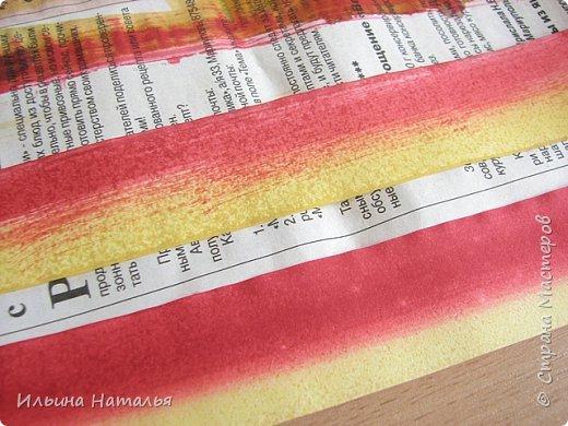 Мастер-класс День учителя Квиллинг Квиллинг-цветочек с карандашиком Бумага Карандаш Клей Краска фото 10