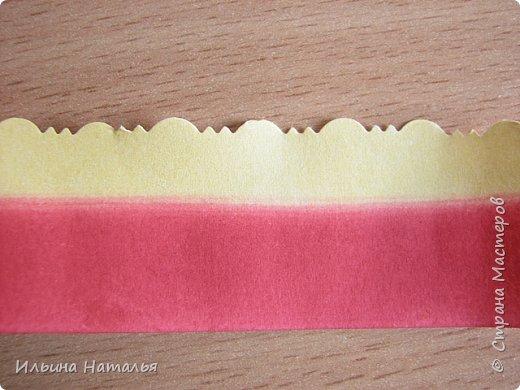 Мастер-класс День учителя Квиллинг Квиллинг-цветочек с карандашиком Бумага Карандаш Клей Краска фото 12