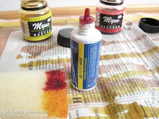 Мастер-класс День учителя Квиллинг Квиллинг-цветочек с карандашиком Бумага Карандаш Клей Краска фото 8