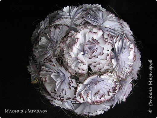 Мастер-класс День учителя Квиллинг Квиллинг-цветочек с карандашиком Бумага Карандаш Клей Краска фото 33