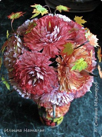 Мастер-класс День учителя Квиллинг Квиллинг-цветочек с карандашиком Бумага Карандаш Клей Краска фото 34