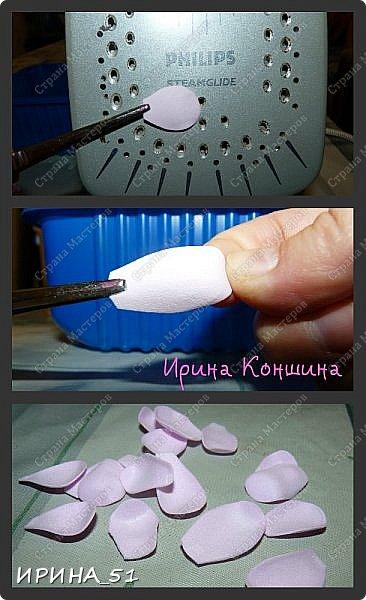 Здравствуйте! Сегодня у меня мастер-класс по изготовлению шпильки с розочкой из фоамирана. Приятного просмотра. Будут вопросы, пишите. Всем отвечу. фото 7