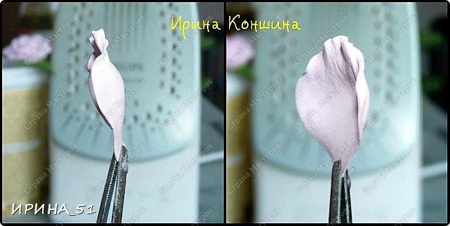 Здравствуйте! Сегодня у меня мастер-класс по изготовлению шпильки с розочкой из фоамирана. Приятного просмотра. Будут вопросы, пишите. Всем отвечу. фото 9