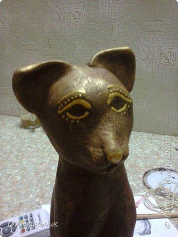 Мастер-класс Поделка изделие Лепка Мукосольная кошка МК Тесто соленое Шпагат фото 33