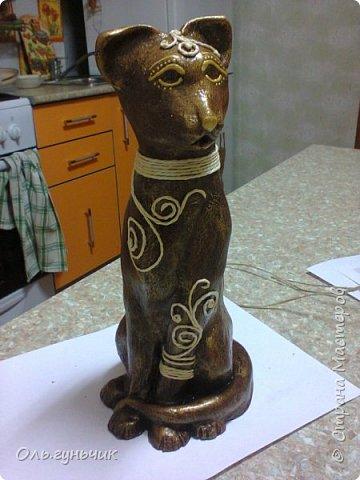 Мастер-класс Поделка изделие Лепка Мукосольная кошка МК Тесто соленое Шпагат фото 35