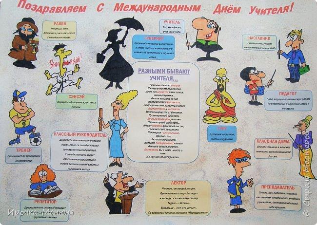 Плакаты к дню учителя с поздравлениями
