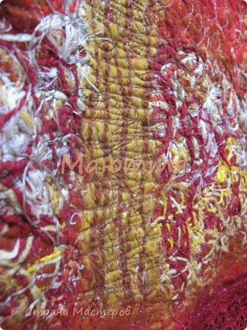 Гардероб Мастер-класс Шитьё Туника Осень в технике Крейзи МК Нитки Пряжа Ткань Шерсть фото 22